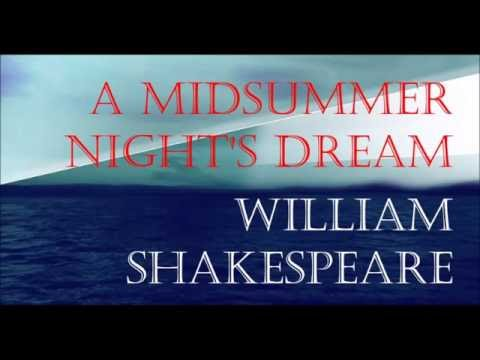 A Midsummer Night's Dream by William Shakespeare (Book Reading, British English Male Voice)