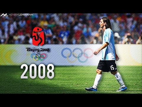 Lionel Messi ? The Olympics ? 2008 HD