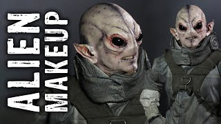 Alien Makeup Transformation in Sydney, Australia