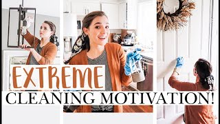 FALL CLEAN WITH ME | EXTREME CLEANING MOTIVATION FALL TO-DO LIST ALL DAY CLEANING | Natalie Bennett