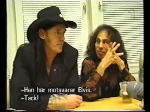 Dio (+Lemmy, Joey DeMaio): Interview (Monsters of the Millenium Tour) #2