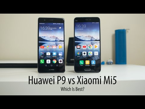 Huawei P9 vs Xiaomi Mi5 - Which Is Best?