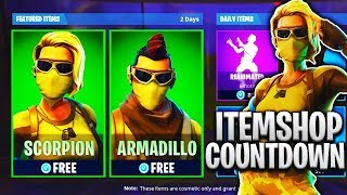 New ARMADILLO & SCORPION Skins in Fortnite Battle Royale!! New Armadillo & Scorpion Gameplay!