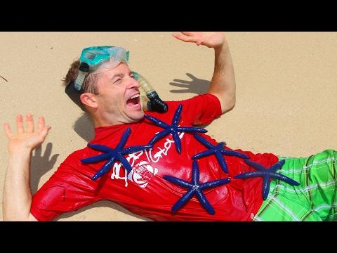 GIANT CLAMS + Starfish AttackFamily Vacation