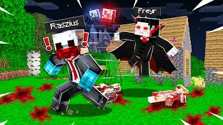 DRACULA PRANK IN CASTLE... (Minecraft Trolling Video)
