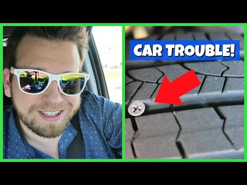 CAR TROUBLE! | SHOPPING AT WALMART AND GYMNASTICS FAMILY VLOG!