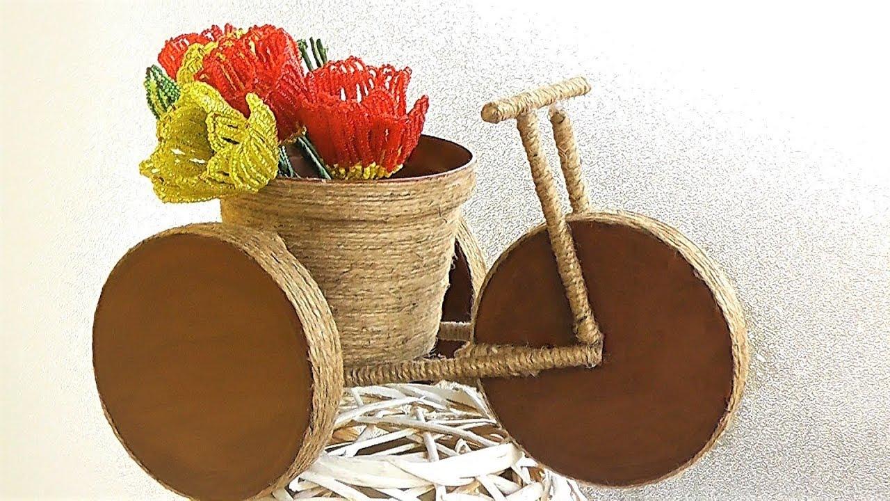 Подарок своими руками / Велосипед декоративный мастер-класс