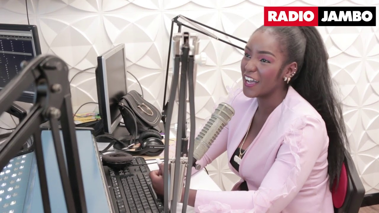 Image result for photos of shakilla on radio jambo