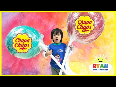 World's Largest Giant Chupa Chups Lollipops