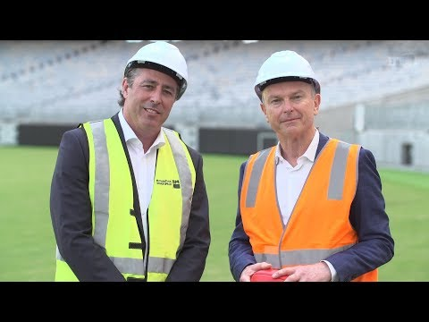 Perth Stadium: 'Once in a lifetime event'