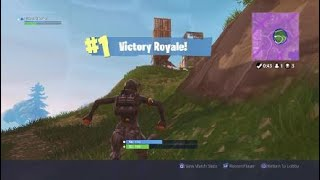 How to get a easy solo win in FORTNITE ?!