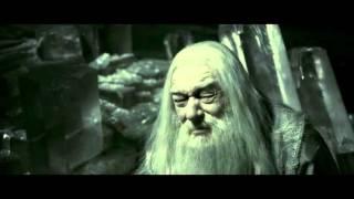 """Гарри Поттер и Принц-полукровка. Сцена из фильма. """"Вы должны выпить это, профессор"""""""