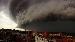 Ураган в Москве 29 мая 2017 г. ПРОСТО ЖЕСТЬ!! Внимание! Не нормативная лексика.