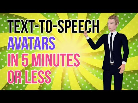 Video Animation Software: How To Create A Text To Speech Avatar In 5 Minutes [Powtoon Alternatives]