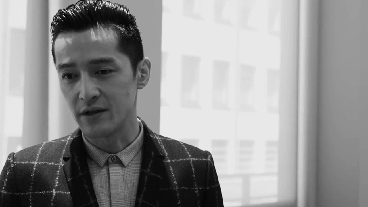 Emporio Armani - 2017 Spring Summer - Menswear Collection - Post Show Interview with Hu Ge