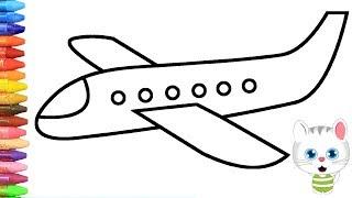 Cara menggambar pesawat terbang dengan MiMi - Cara Menggamba...