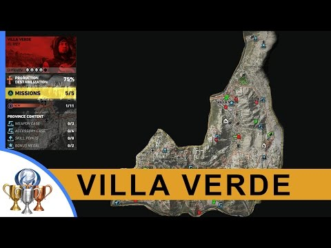 Ghost Recon Wildlands Kingslayer Files, Legends, Documents, Weapons, Medals, Skills (Villa Verde)