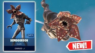 NEW DEMOGORGON Skin Gameplay in Fortnite!