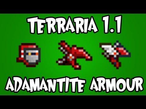 Terraria 1.1 - Adamantite Armour