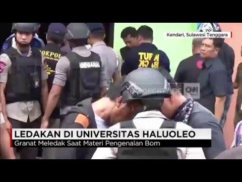 Granat Tangan Meledak di Universitas Haluoleo, 4 Orang Tewas