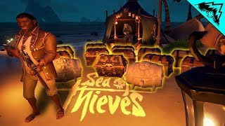 MASSIVE TREASURE HAUL - Sea of Thieves Highlights #2 (SOT Funny Moments & Gameplay)