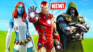 Unlocking IRON MAN in FORTNITE! (Season 4)