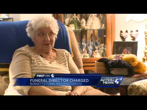Funeral director charged with forgery, fraud