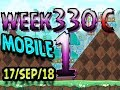 Angry Birds Friends Tournament Level 1 Week 330-C  MOBILE Highscore POWER-UP walkthrough