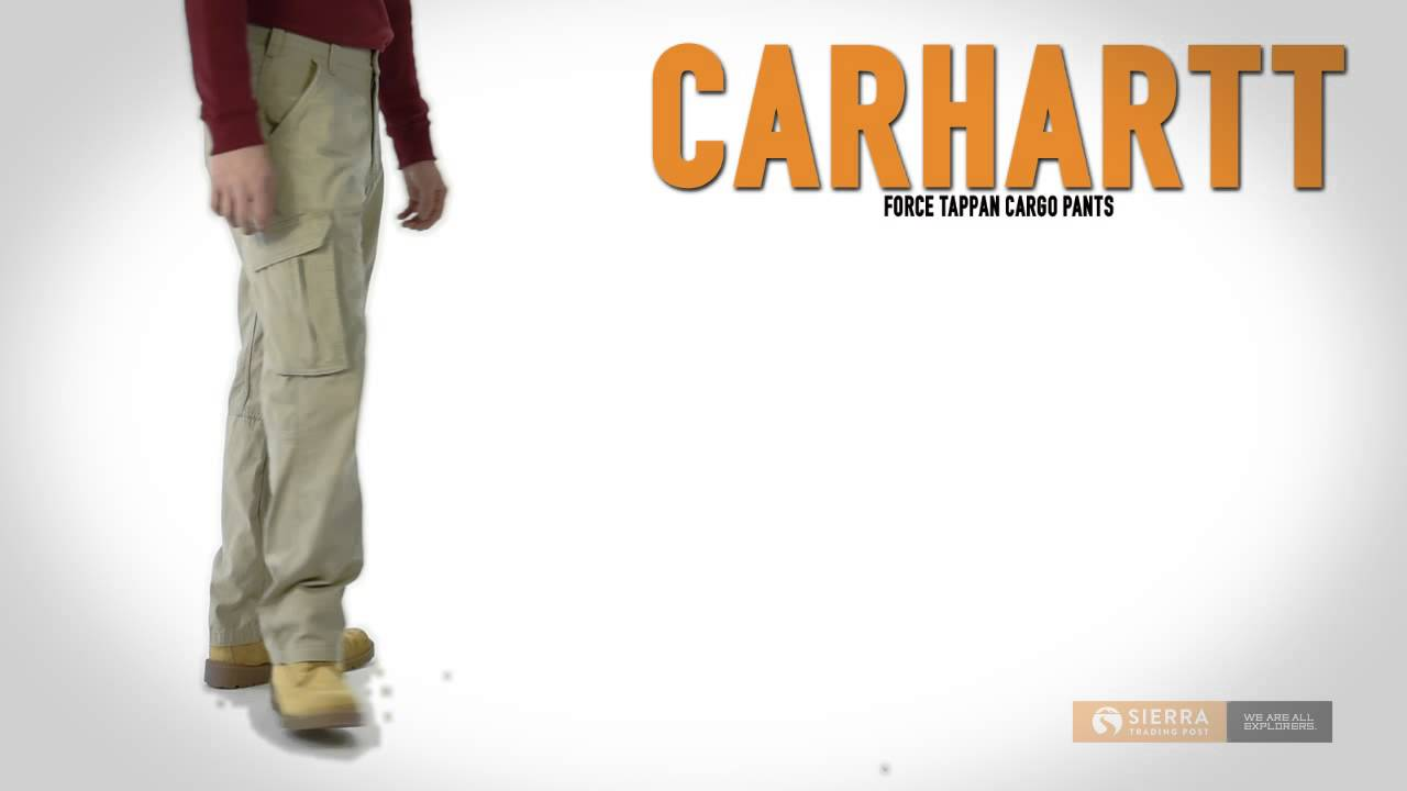 d1b2c3e2 Carhartt Force Tappan Cargo Pants - Relaxed Fit (For Men) - YouTube