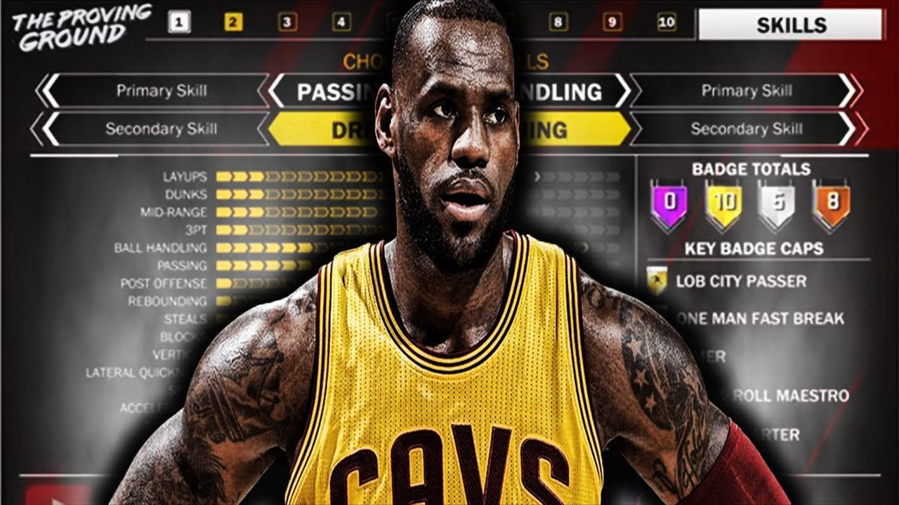 249d62cd3f0a NBA 2k18- LEBRON BUILD-BEST BUILD FOR SMALL FORWARDS - YouTube