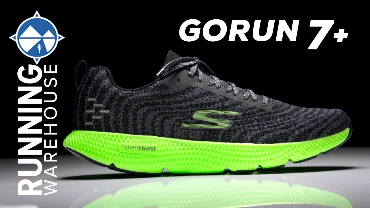 corazón perdido Periódico Escudero  Skechers GOrun 7+ First Look | Giving the People What They Want! - YouTube