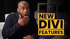 Divi theme new features - New Divi Features