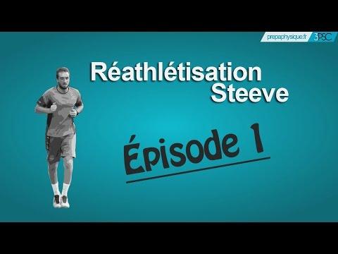 Ep 1 Réathlétisation Football après rupture LCA http://www.prepaphysique.fr