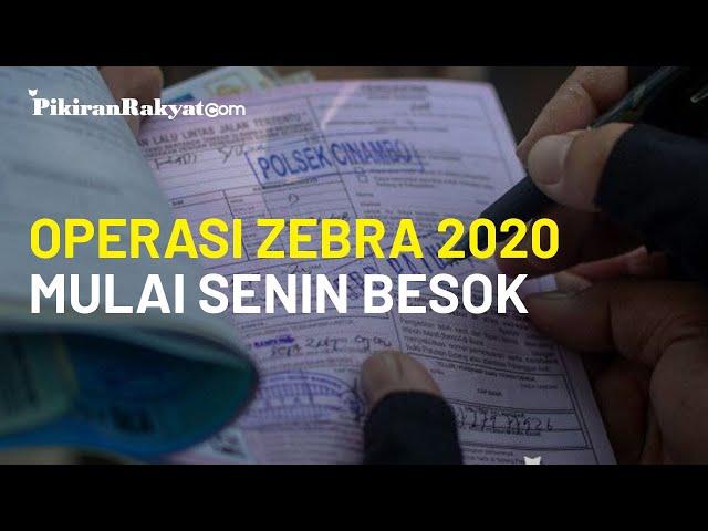 Besok Operasi Zebra 2020 di Seluruh Indonesia Dimulai, Viral Video Petugas Beri Imbauan Lewat TikTok