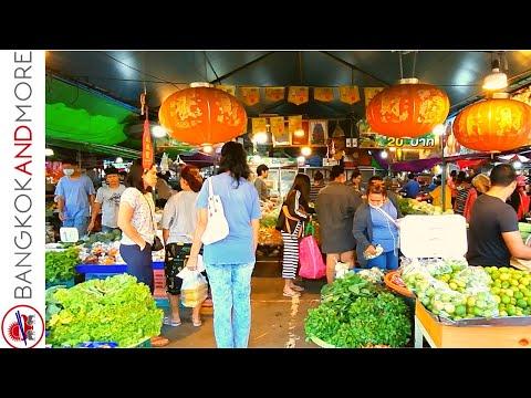 Historical THAI MARKET │ BO BUA MARKET Chachoengsao 7 AM