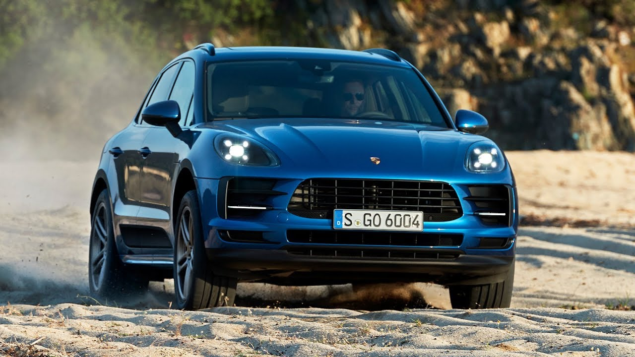 2019 Porsche Macan Sapphire Blue Metallic Driving Interior Exterior Youtube