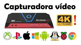 Como grabar PC XBOX PS4 iPhone 4K - Avermedia LGP2