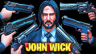 SKIN JOHN WICK v2 AND NEW TACTIC ASSAULT FUSIL IN FORTNITE UPDATE 9.01