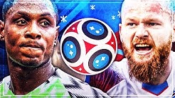 NIGERIA VS ISLAND - WM 2018 | FIFA 18 WORLD CUP PROGNOSE