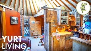 14 Years Living Off-Grid in a Yurt - Man Shares Real Life Experience