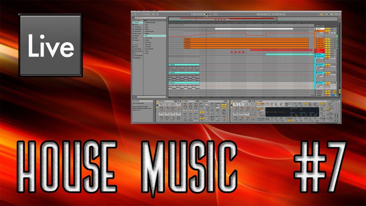 Ableton live tutorials house music 7 arrangement for House music arrangement