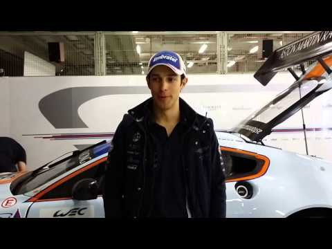 Bruno Senna Shanghai WEC post-Qualy English
