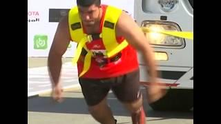 ԱՌԱՆՑ ՄԵԿՆԱԲԱՆՈՒԹՅԱՆ  Աշխարհի ամենաուժեղ տղամարդիկ Հորդանանում պայքարել են բեռնատարներ տեղաշարժելով