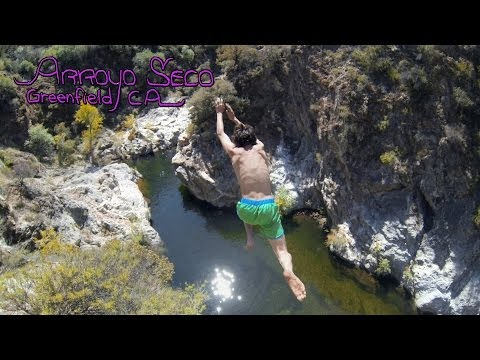 Arroyo Seco Cliff Jumping 4/6/14