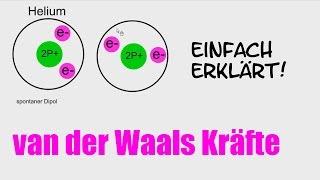 Chemie: van-der-Waals-Kräfte / Dipole [HD]