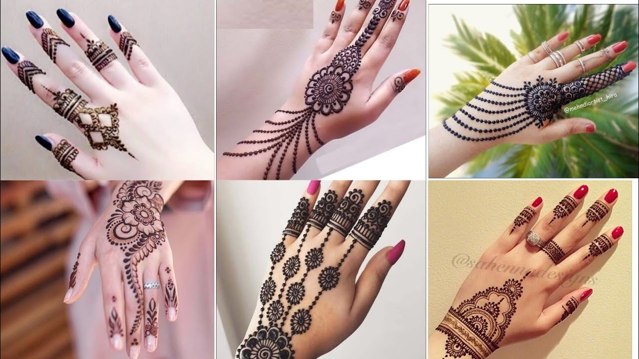 2019 Top 20 arabic pakistani ,indian Back hand mehndi design