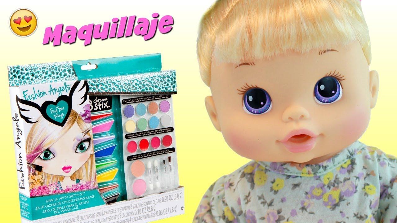 Maquillaje de Juguete Fashion Angels • Colegio de Juguetes para niños