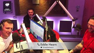 BOXING INTERVIEW: EDDIE HEARN with us on TalkSPORT (12/5/18)