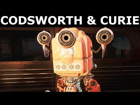 Fallout 4 Nuka World - Mr Frothy Codsworth & Nuka Mascot Curie