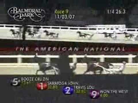 2007 BALMORAL $275,000 AmNatl 3yrC PACE WON THE WEST 1:51.1